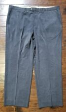 Mens Tommy Bahama Blue Silk Blend Flat Front Pants Sz 43 Inseam 30 Euc