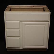 """Kraftmaid Biscotti Maple Bathroom Vanity Sink Base Cabinet 33"""" Ask For Granite"""