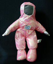 1997 INTEL Inside CORPORATION Advertising Stuffed Astronaut Space Pink Doll Toy