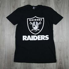 VINTAGE DA UOMO UFFICIALI NFL Team Apparel Oakland Raiders Football Tee Jersey S