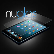 2 (pack) X GENUINE NUGLAS NEW APPLE IPAD AIR 1 2 TEMPERED GLASS SCREEN PROTECTOR