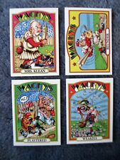 WACKY PACKAGES OLD SCHOOL 4 Baseball Cards with WEAKIES Cards 2012 Topps