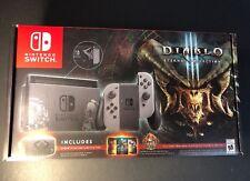 Nintendo Switch Diablo III Eternal Collection Limited Edition Bundle NEW