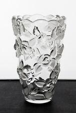"Mikasa Crystal ""Bella Rosa"" 7"" Flower Vase."