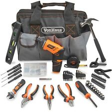 VonHaus 94pc Household Hand Tool Set + Screwdriver Combo Kit