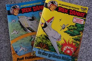 REX DANNY Die Abenteuer des Testpiloten NR.12 und 19