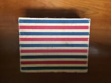 Vintage Dejay Corp. Record Player. Stars and Stripes Model SP 10