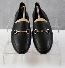 Jones Bootmaker Women's Black Leather Loafers Casual Shoes Size UK 7 EU 40 VGC