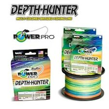 Power Pro Depth Hunter Braid Fishing Line 80 lb Test 1500 Yds Multi Color 80lb