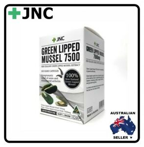 JNC New Zealand Green Lipped Mussel 7500 mg 300 capsules