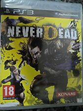 NEVERDEAD PS3 Nuevo Never Dead Aventura acción gore en castellano In english