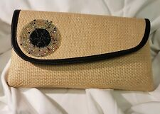 AFRICAN CLUTCH BEADED PURSE, HANDMADE TRIBAL ETHNIC  ACCESSORIES.
