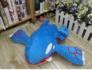 37CM Monster Kyogre Plush Stuffed Animal Toy Doll Soft Kids Gift