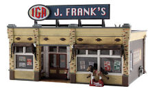 "HO Woodland Scenics ""Built & Ready"" 5050 * J. Franks Grocery * NIB"