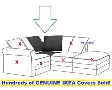 Ikea GRONLID Corner Sofa Section Cover Slipcover SPORDA DARK GRAY New in Box!