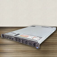 Dell PowerEdge R630 Server, 8SFF, E5-2620v3, E5-2650v3, E5-2680v3, 128GB, H730