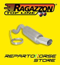 RAGAZZON TERMINALE ROTONDO 90mm FIAT GRANDE PUNTO 1.3 MJT 16V Sport 75/90 CV