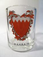 BAHRAIN SHOT GLASS SHOTGLASS