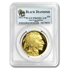 2012-W 1 oz Proof Gold Buffalo PR-69 PCGS (Black Diamond) - SKU #79196