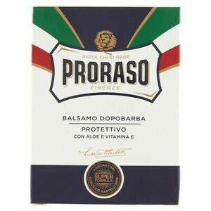 Proraso After Shave Balm, Protective & Moisturizing, 3.4 fl oz