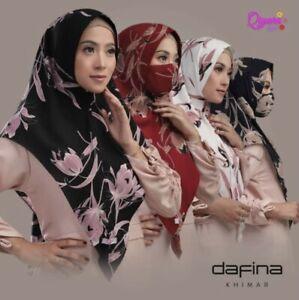 Dafina Khimar & Mask Set Instant Hijab One Piece Pinless Slip On HeadScarf