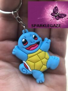 """BRAND NEW 2020 PVC POKEMON """"SQUIRTLE THE TURTLE"""" EVOLUTION KEYRING 305"""