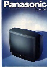 Panasonic Original Prospekt / Katalog   TV  1993/1994 93 94