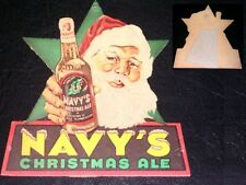 Santa Claus on Beer, 'Navy's Christmas Ale' 1940s Advertising Stand-Up