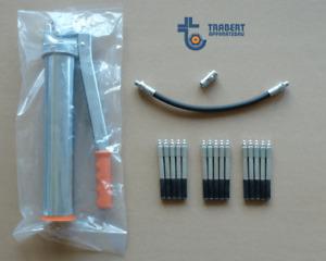 Handhebelpresse 550ccm Set für Giesharz Injektionsharz Stahlpacker D 10 mm