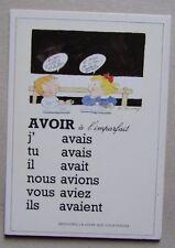 FA272BP) CP CONJUGAISON Monique Touvay - avoir à l'imparfait - 1989