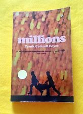Millions by Frank Cottrell Boyce FREE AUS POST acceptable condition paperback 04