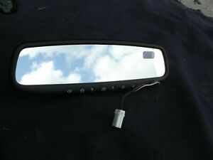 2001-2014 SUBARU LEGACY FORESTER REAR VIEW MIRROR  COMPASS HOMELINK DIM OEM