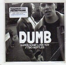 (GC856) Dumb, Super Sonic Love Toy - 2013 DJ CD