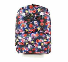 Vans Realm Galaxy Floral Backpack Book Travel Gym Bag New