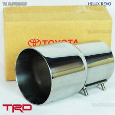 Fit Toyota Hilux Revo Sr5 Genuine 2015 2016 2017 TRD Pipe Muffler Cutter Exhaust