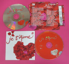 CD Compilation Je T'Aime 2009 NEGRITA FRANCO BATTIATO AMY WINEHOUSE no lp (C8)