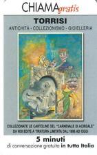 CHIAMAGRATIS - TORRISI - ANTICHITA' - VALIDITA DAL 20/02/2003 AL 20/08/2003