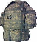 Backpack US Army MOLLE II ACU Rucksack Digital Camo large field pack Excellent