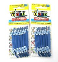 Kiddos ULace Sneaker Customizing Laces 2 Pack Set of Blue