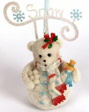 Cherished Teddies Snowbear SNOW Ornament 2011 - Make Your Spirit Bright 4023749
