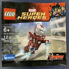 LEGO 5002946 Marvel Super Heroes Silver Centurion Minifigure New Sealed Iron Man