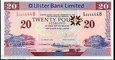 Ulster bank Ltd Belfast £20 twenty pound banknotes 2010 2012 2014 2015
