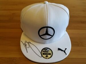Lewis Hamilton Autographed Cap. British Gp 2014 Original Ltd Cap JSA COA.