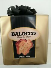 Balocco Panettone Italian Gold Gift Wrapped Cake 500gr