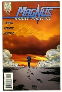 Magnus Robot Fighter #1 (1996) NM- Valiant Comics Last issue