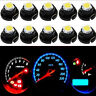 10xWhite T4 T4.2 1SMD 1210 LED Light Instrument Bulb Neo Wedge Panel Gauges Lamp