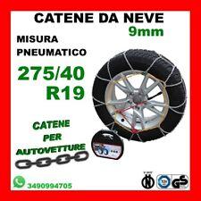 CAR-665-685 Calze Da Neve Auto Camper Furgoni Misura Pneumatico Gomma 235//45R18