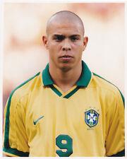 Ronaldo, Brazil, Barcelona, Inter Milan, Cruzeiro, 10x8 inch press photo 1997.