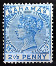 BAHAMAS 1888 - 2½d  SG50 Mounted Mint Cat £90 NL256