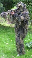 BRITISH ARMY STYLE SPECIAL FORCES / SNIPERS 3D GHILLIE SUIT in WOODLAND CAMO